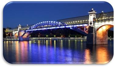Description: Bridge in St. Petersburg