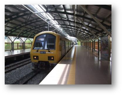 Trains in Malaysia