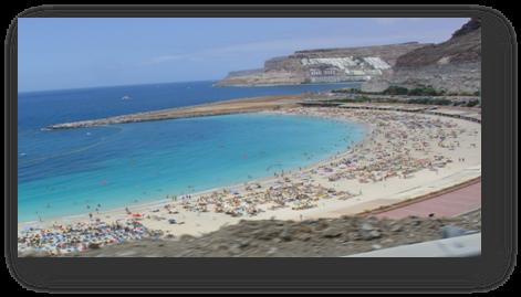 Description: Spain exotic beach